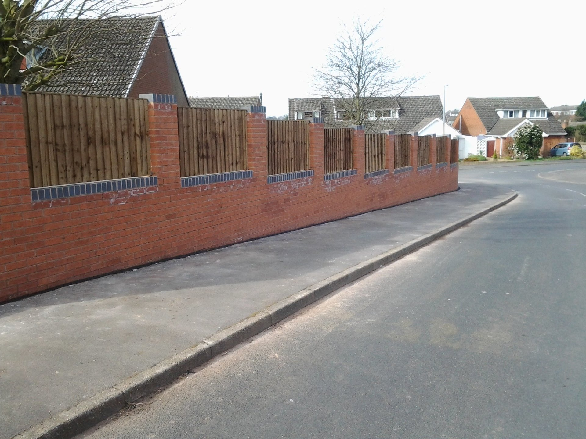 Lichfield Domestic Walling