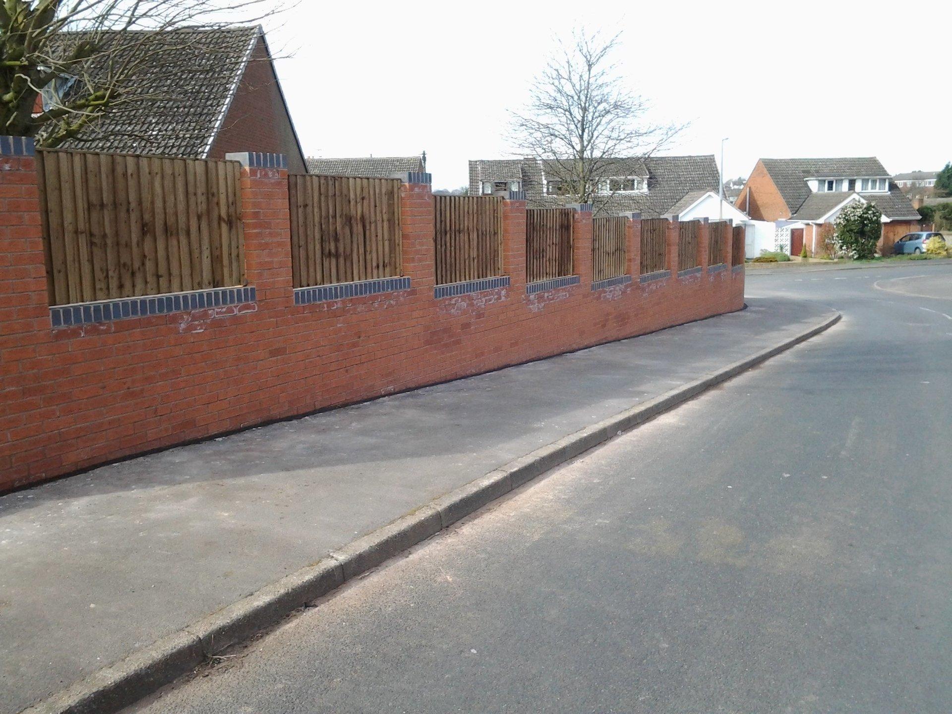 Lichfield Domestic Walling