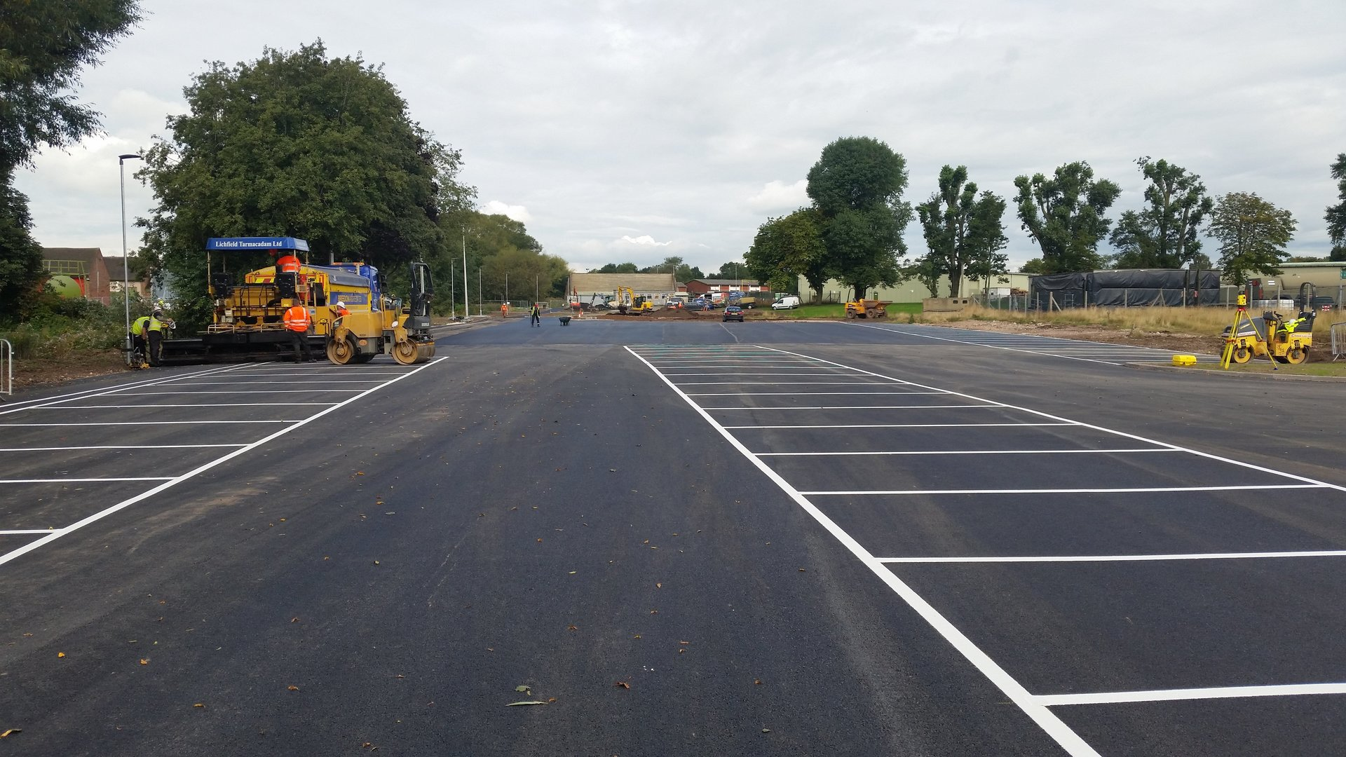 Lichfield Tarmacadam Commercial Car Park Surfacing