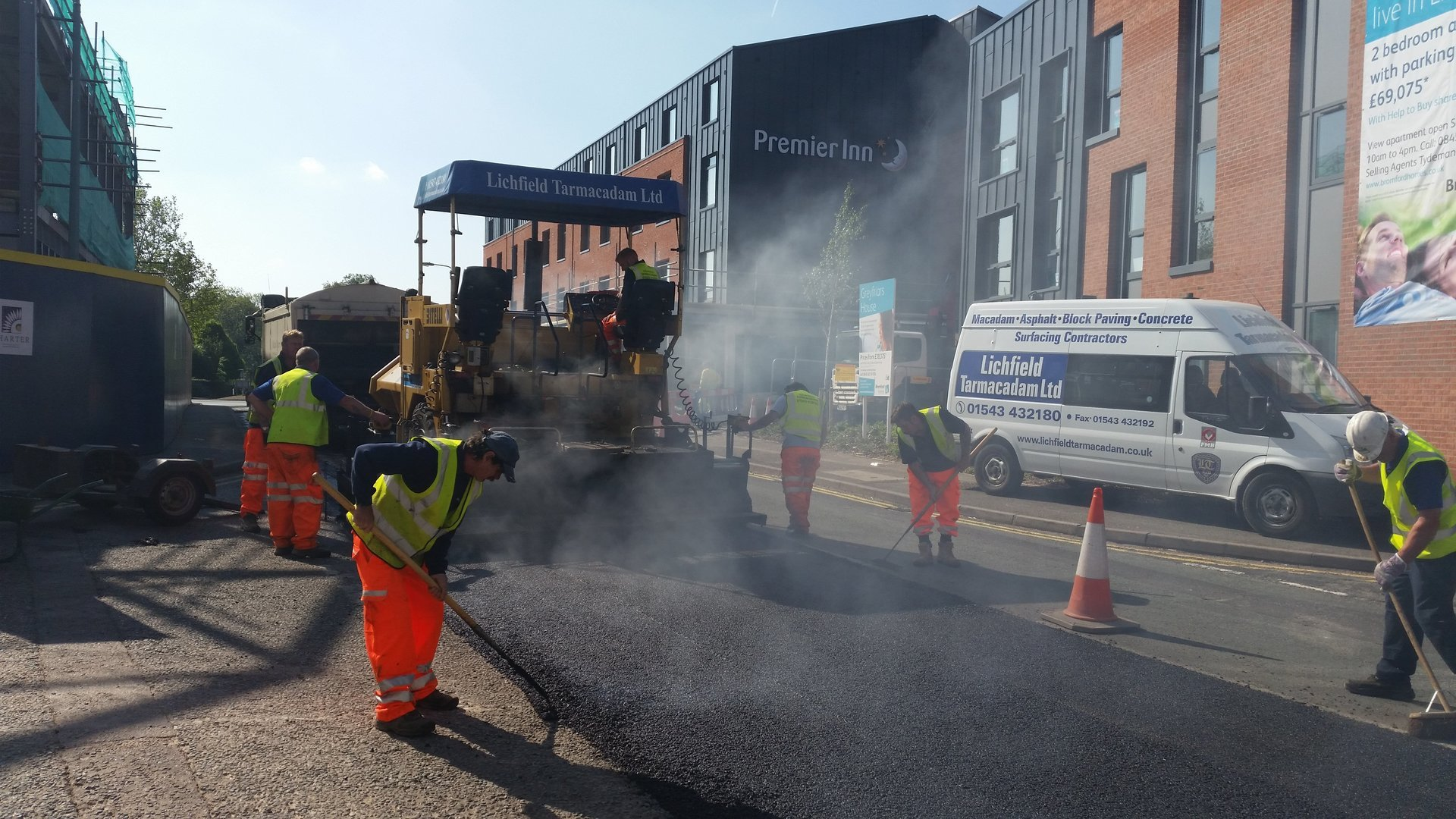 Lichfield Tarmacadam Commercial No Obligation Quote