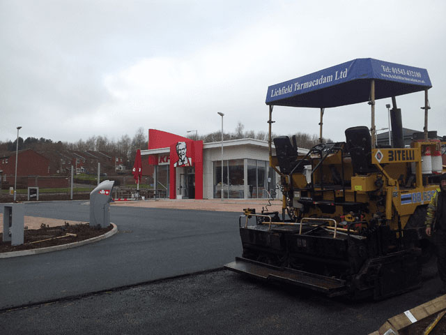 Commercial Car Parks & Forecourts, Road Surfacing, Sports & Playgrounds, Driveways, Footpaths, Walling & Block Paving