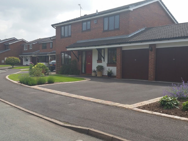 Domestic Driveways, Patios & Footpaths, Walling & Block Paving