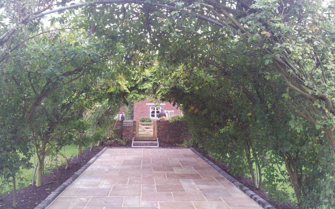 New Patio in Derbyshire