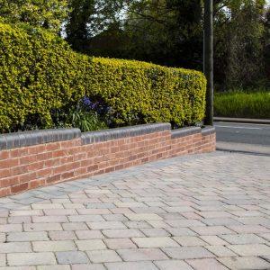 Lichfield Tarmacadam block paved driveways
