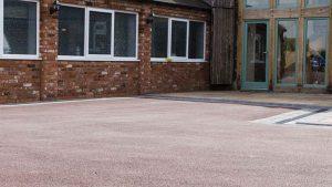 Resin Bound Driveway in Lichfield