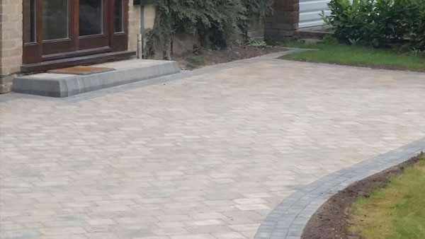 Block Paved Driveways in Cannock
