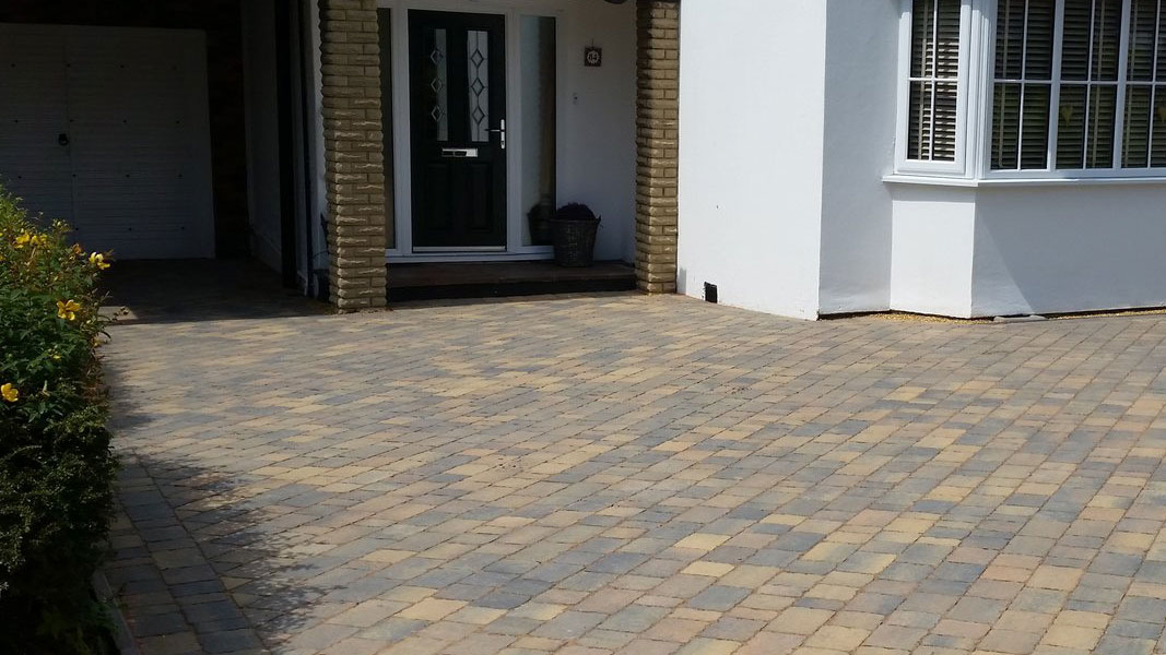 Staffordshire Block Paved Driveways