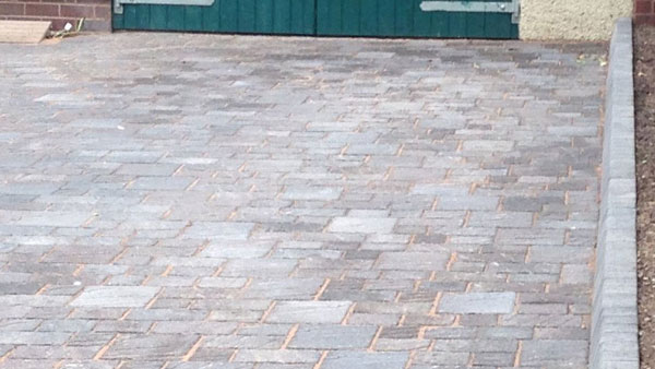 Block Paved Driveway in Hoar Cross