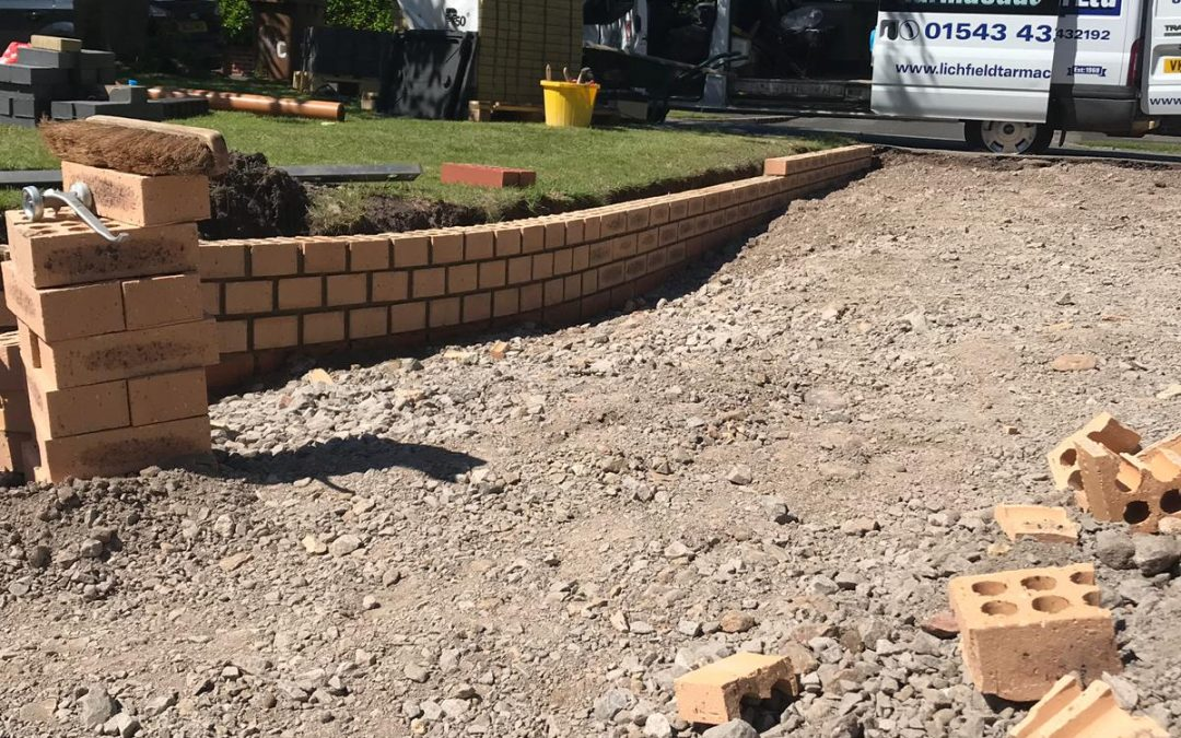 New Driveways in Staffordshire