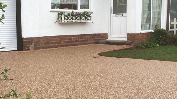 Resin Bound Driveway in Burntwood