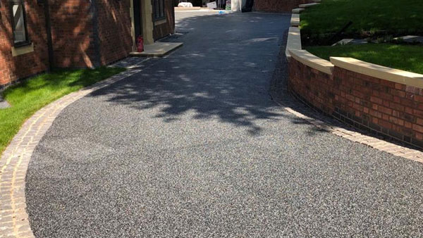 Resin Bound Driveway in Stafford