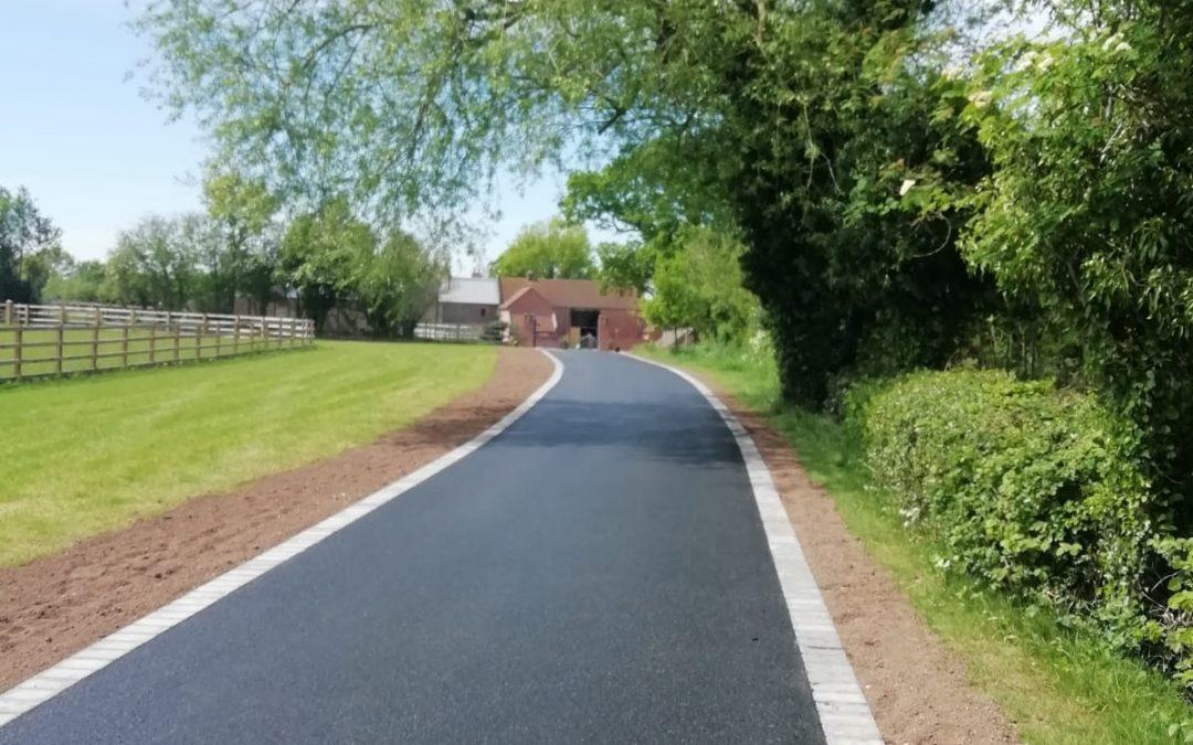 Tarmac Drive in Lichfield