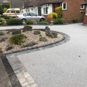 Titanium Colour Resin Bound Driveway