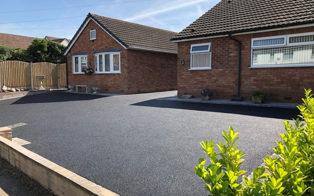 Tarmac Driveway laid in Solihull, West Midlands