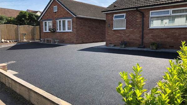 Tarmac Driveway in Longdon
