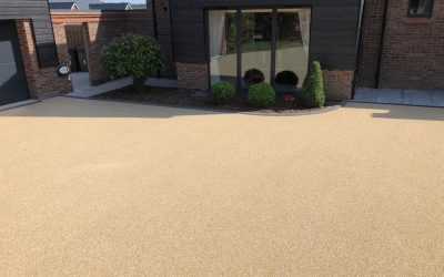 Resin Bound Driveway in Meadow!