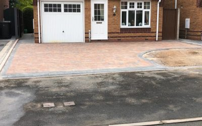 Block Paving carried out in Tobermore Shannon blocks