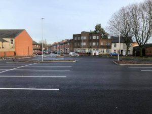 After Commercial Car Park