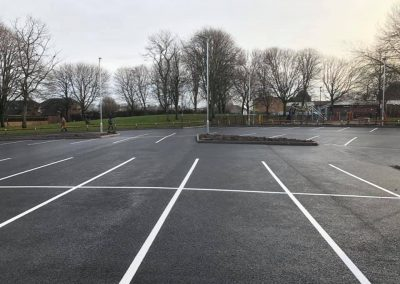 Commercial car park resurfacing in Derby