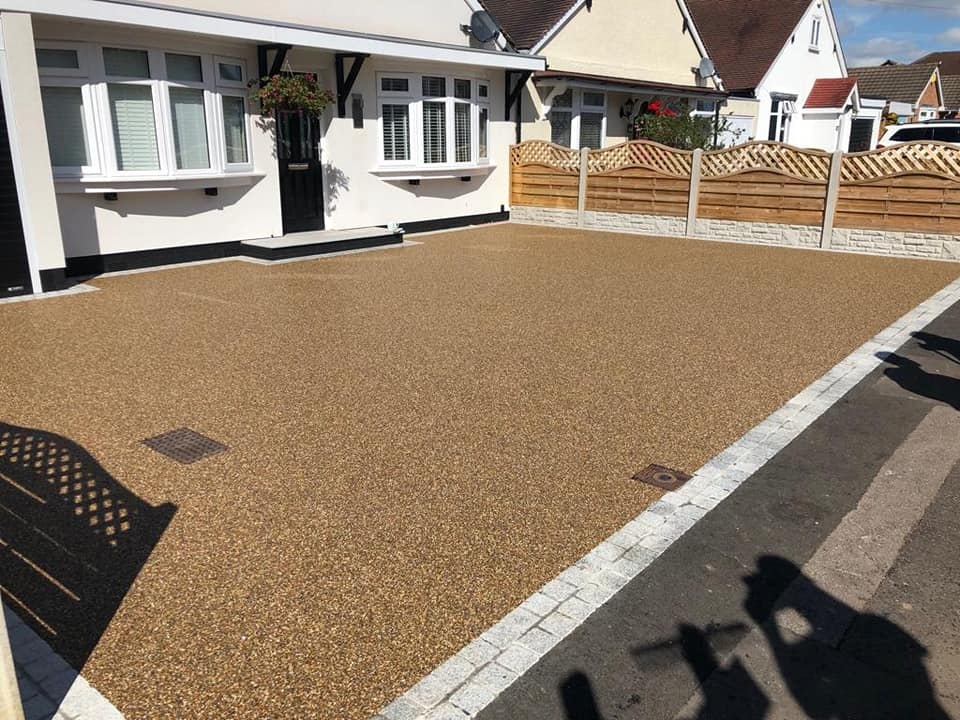 Resin bound driveway in Staffordshire