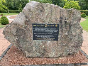RAF Halton Grove memorial, at the National Memorial Arboretum