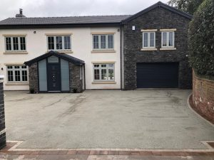 New driveway in Staffordshire