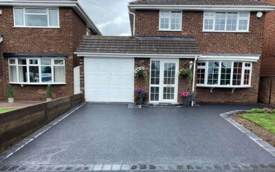 New driveway in Rugeley