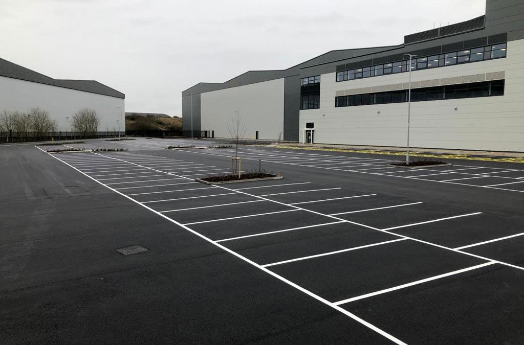 Commercial Distribution Centre in Fradley