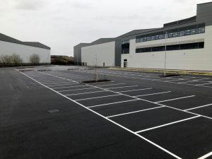 Commercial Distribution Parking in Fradley
