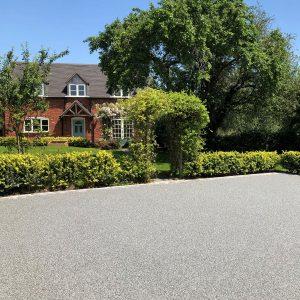 Grey Resin Driveway