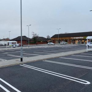 Boley Park Shopping Centre Car Park Lichfield