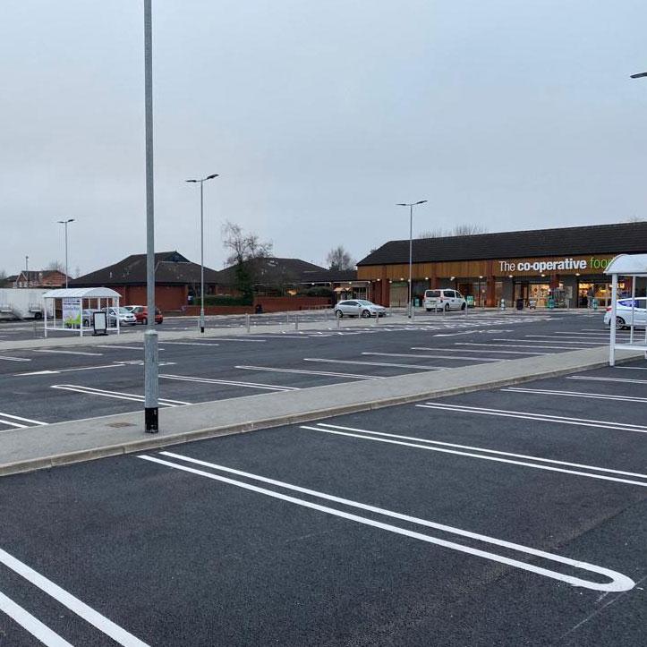 Boley Park Shopping Centre Car Park Lichfield