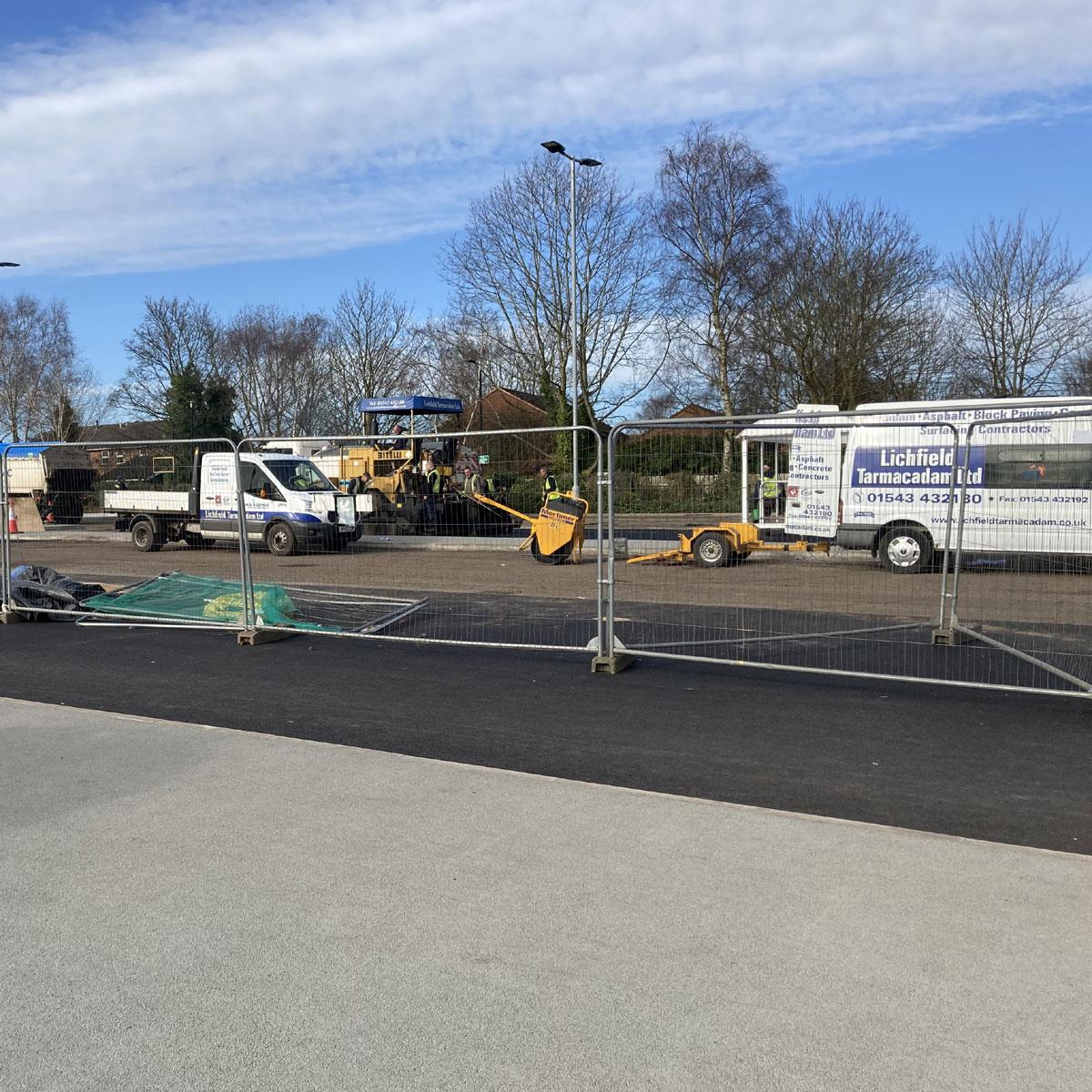 Boley Park Resurfacing