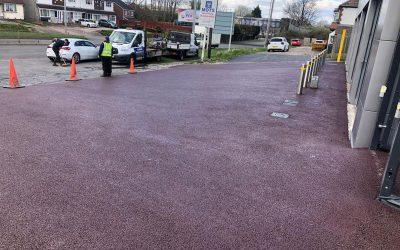 Resurfacing Work at Warley Car Clinic
