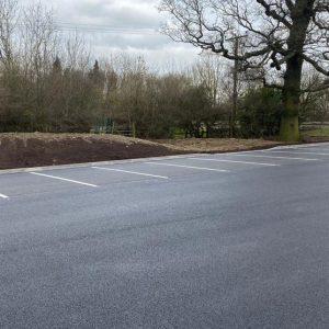 Planter Garden Centre Resurfacing in Tamworth